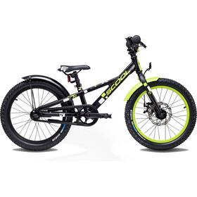 s'cool faXe 18 Børnecykel alloy sort
